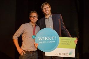 Phineo_Siegel Verleihung